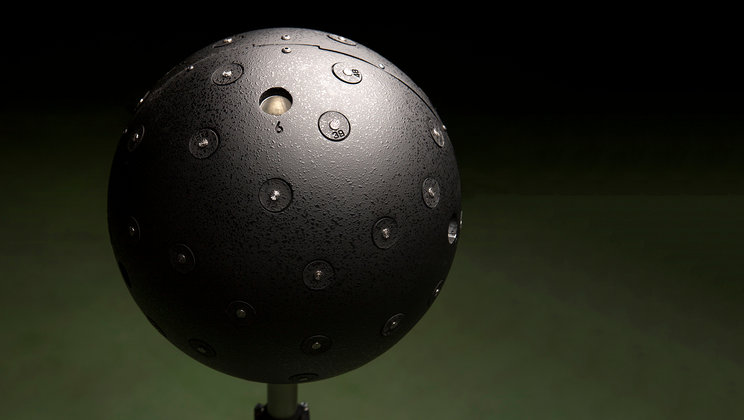 Akustická 3D kamera je osazena mnoha malými mikrofony a používá se ke snímání zdrojů zvuku