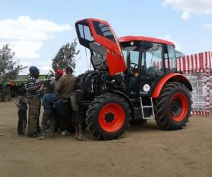 Tractor Show projíždí Keňou