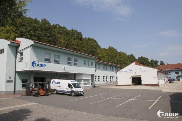 Centrála společnosti ADIP v Březnici u Zlína