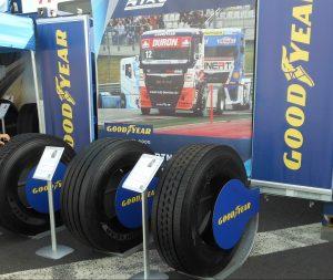 Tahače na Czech Truck Prix 2017 obují pneumatiky Goodyear