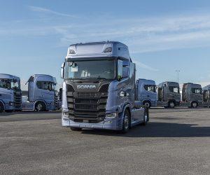 Hospodaření společnosti Scania za 1.pololetí 2017