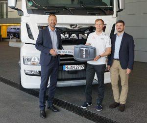 Nový MAN TGX D38 zajišťuje logistiku pro kralujícího mistra světa v rallyekrosu