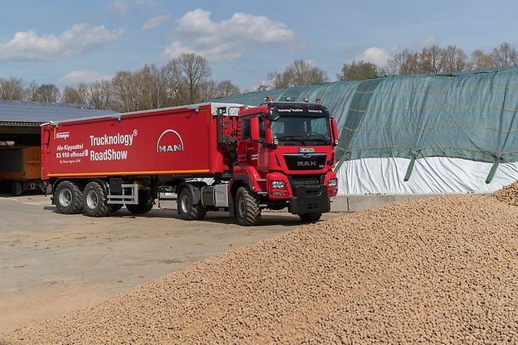 Zemědělský truck/traktor vystaví MAN na listopadovém veletrhu AGRITECHNICA