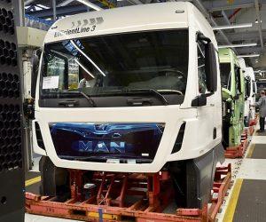 RIO Box ve standardní výbavě vozidel MAN