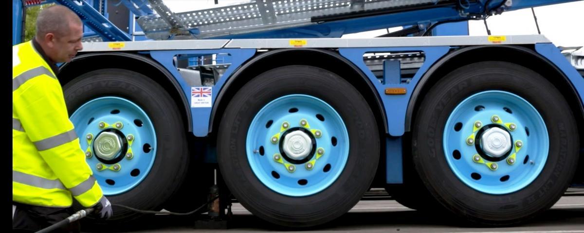 Speciální návěsové pneumatiky Goodyear