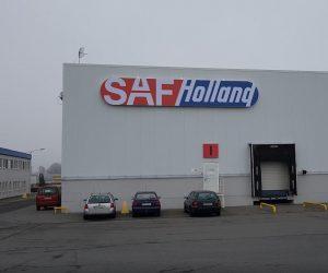 SAF Holland na nové adrese