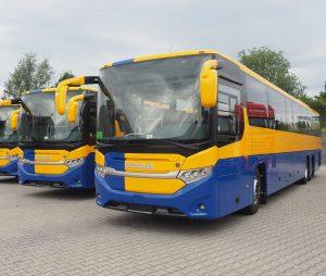 Scania předala prvnímu zákazníkovi autobusy Interlink