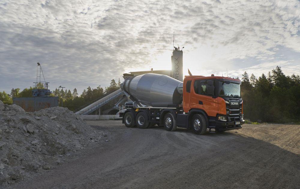 Scania G 410 XT 8x4