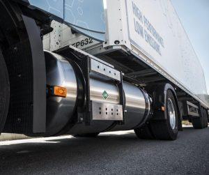 Nová nákladní vozidla Volvo s plynovým pohonem produkují méně emisí CO2