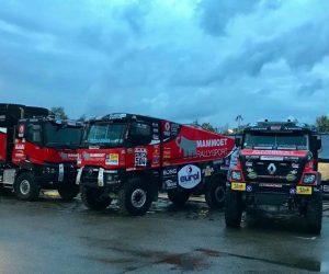 MKR Technology představuje 3 kamiony pro Dakar 2018