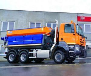 TATRA dodala nová vozidla pro údržbu komunikací