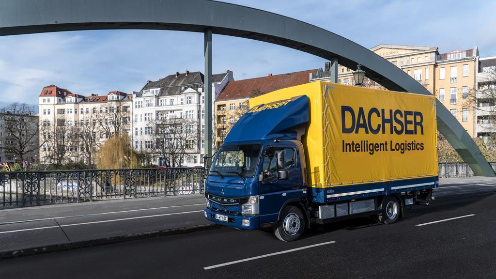 DACHSER nasadí nákladní vozy na elektropohon