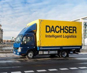 DACHSER zavádí nákladní vozidla na elektropohon