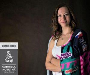 Gabriela Novotná - první Češka na Dakaru
