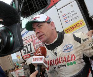 Gerd Huzink skončil na 40. Dakaru sedmý