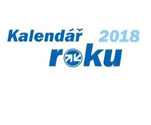 Kalendář roku 2018 je od firmy Zetor