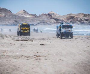 Po pekelné čtvrté etapě na Dakaru Macík celkově čtvrtý