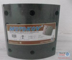 Skarab uvádí na trh obložení a brzdové čelisti MOTOKOV pro vozy Tatra T815