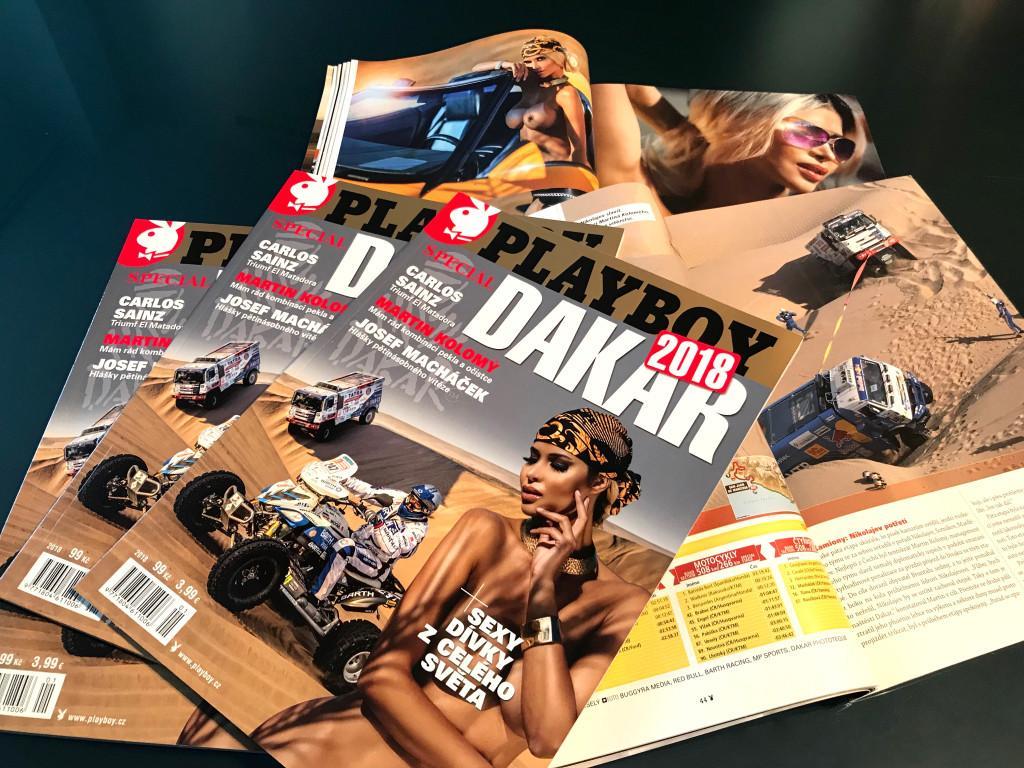 Očekávaný 3.díl speciálu Playboy Dakar v prodeji od čtvrtka