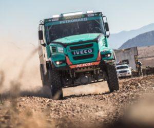 Team de Rooy vyslal první truck na pneumatikách Goodyear zpět na Africa Eco Race
