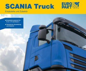 Nový katalog pro nákladní vozy Scania u Europartu