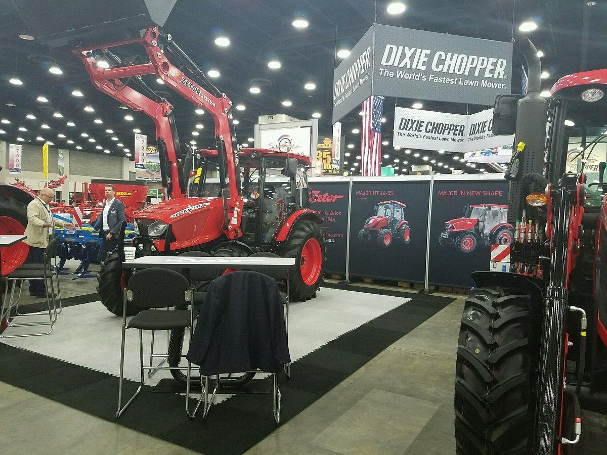Značka ZETOR představí v USA nové traktory a nový ZETOR design