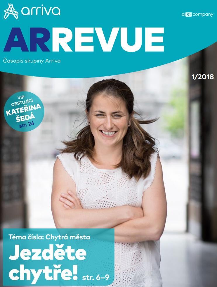 Časopis skupiny Arriva - 1/2018