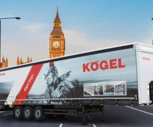 Kögel představí odolné návěsy Cargo na Commercial Vehicle Show 2018