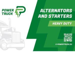 Nová značka alternátorů a startérů pro nákladní vozy
