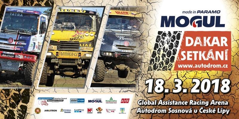 Akce Mogul Dakar setkání v Sosnové