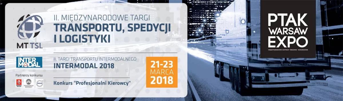 2. Mezinárodní veletrh Transportu, spedice a logistiky 2018 Varšava