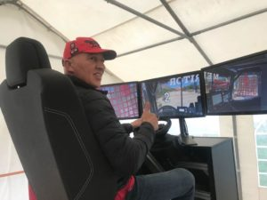 Dakarský simulátor vydaný automobilkou Renault Trucks