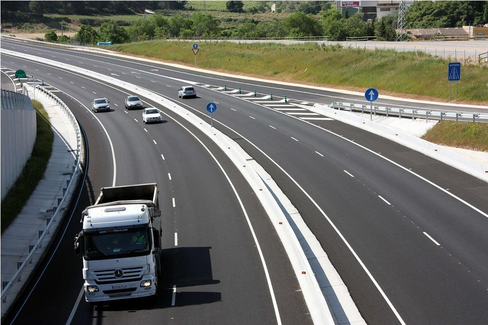 Ilustrační obrázek dálnice