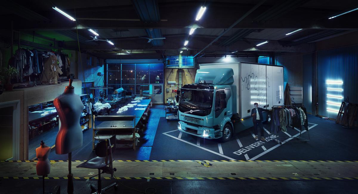 Premiéra prvního plně elektrického nákladního vozidla společnosti Volvo Trucks