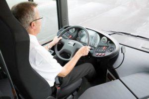 Místo pro řidiče je koncipováno se zaměřením na co nejsnadnější obsluhu vozidla a ergonomii