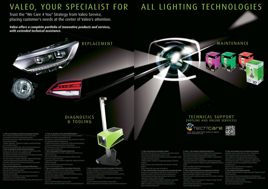 Nový katalog osvětlení Valeo
