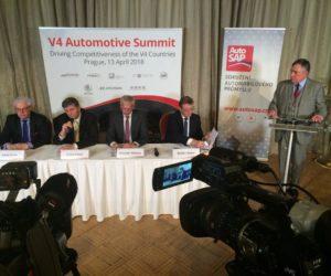 Summit V4 v Praze o budoucnosti automobilového průmyslu