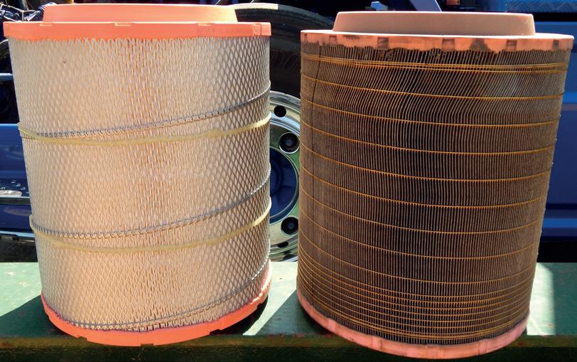 Vzduchový filtr febi pro nákladní vozy