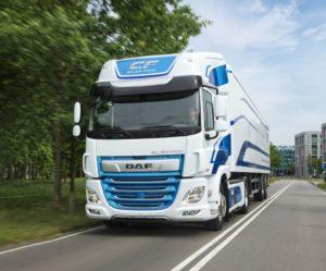 DAF představuje nákladní vozidlo řady CF s plně elektrickým pohonem