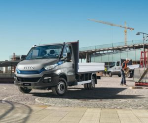 Iveco představilo na veletrhu Intermat 2018 Stralis X-WAY