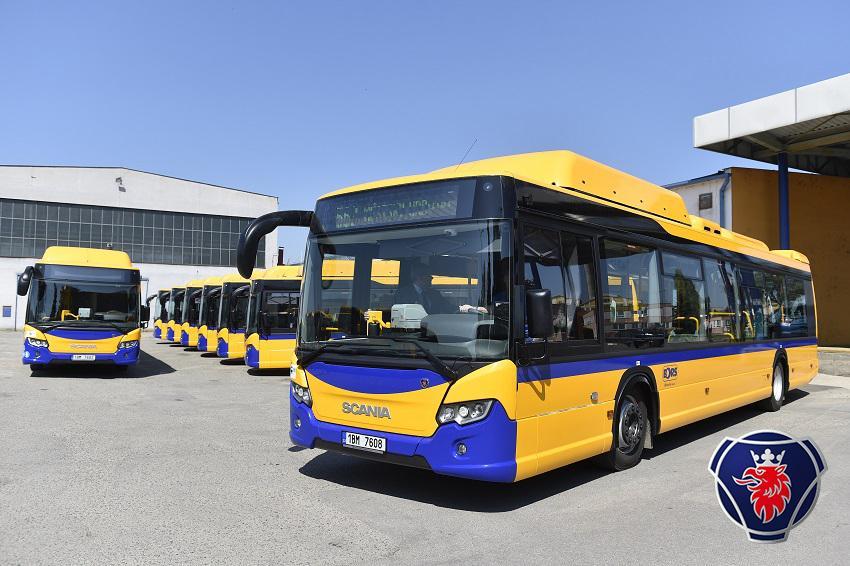 Nové autobusy Scania CITYWIDE LF pro Břeclav