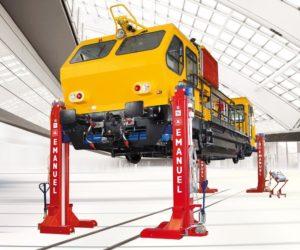 Jak se zvedá tramvaj nebo vlak