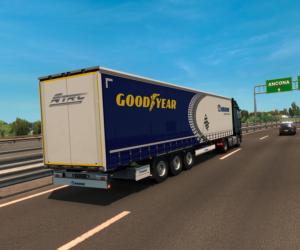 Goodyear se zapojuje do počítačové hry závodů tahačů