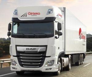 500 vozidel DAF XF pro evropskou dopravní společnost