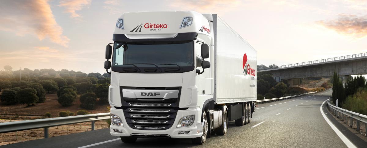 500 vozidel DAF XF pro společnost Girteka Logistics