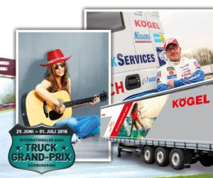 Kögel bude i letos na Truck Grand Prix 2018