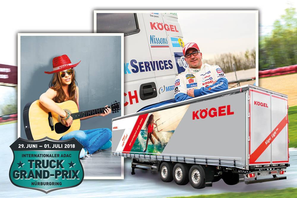 Truck Grand Prix 2018 – Kögel zde bude i letos