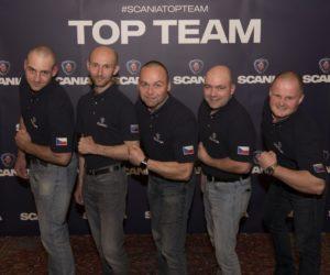 Servisní tým Scania z Jihlavy je třetí nejlepší v Evropě