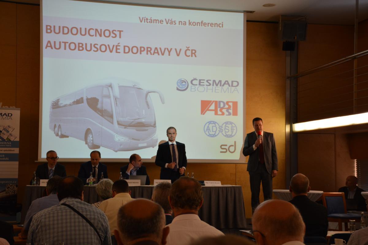 Konference o budoucnosti autobusové dopravy v ČR