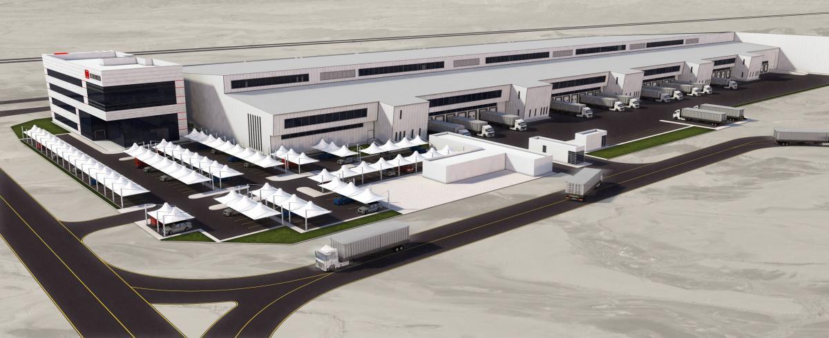 DB SCHENKER staví nové logistické centrum v Dubaji